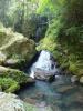 清水瀑園 滝開き